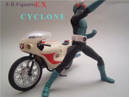S.H.フィギュアーツ EX サイクロン号 レビュー