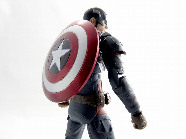 S.H.フィギュアーツ キャプテン・アメリカ(シビル・ウォー) レビュー
