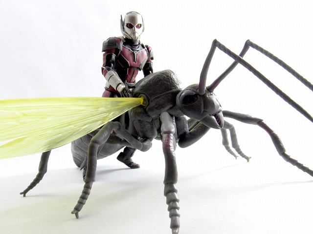 3.75インチ マーベル・インフィニット ボックスセット アントマン&アント marvel infinite antman ant review MonsterArts レビュー アクション