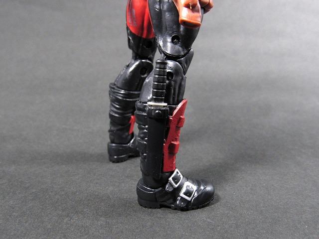 マーベル・レジェンド MARVEL LEGENDS デッドプール(X-MEN ジャガーノートシリーズ) レビュー 付属品