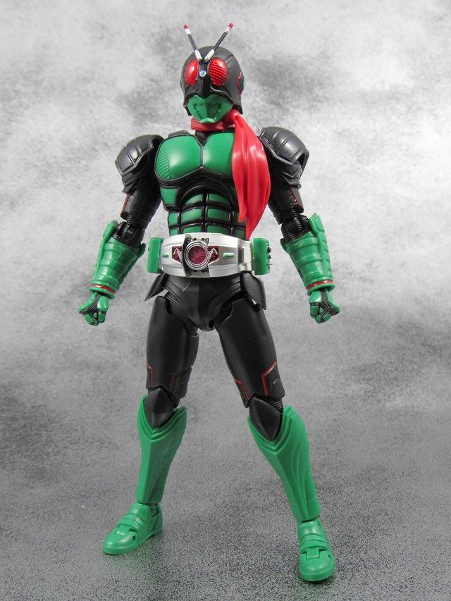 S.H.フィギュアーツ 仮面ライダー1号 ネオ1号 レビュー レビュー