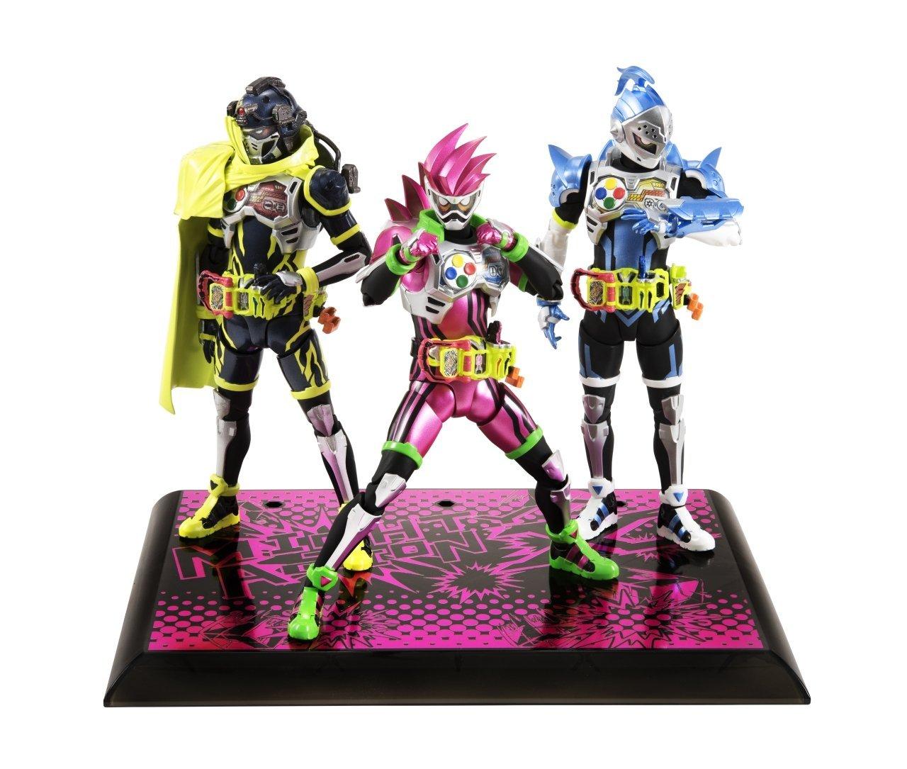 S.H.フィギュアーツ 仮面ライダーエグゼイド マイティアクションX ビギニングセット_