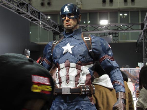 東京コミコン2016 レポート キャプテンアメリカ