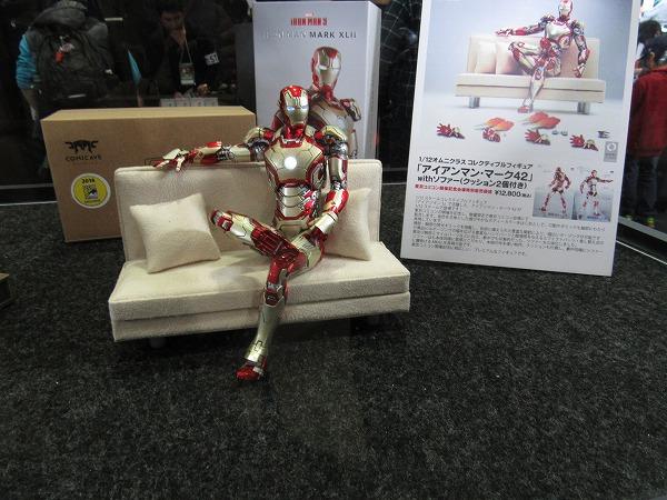 東京コミコン2016 レポート COMICAVE STUDIOS アイアンマン