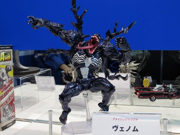 東京コミコン2016 レポート 海洋堂 スパイダーマン ヴェノム