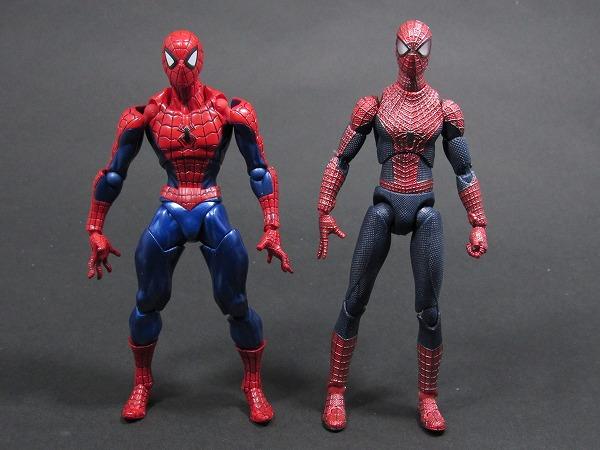 リボルテック Amazing Yamaguchi スパイダーマン レビュー 全身