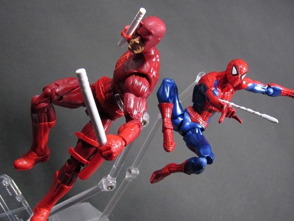 リボルテック Amazing Yamaguchi スパイダーマン レビュー アクション