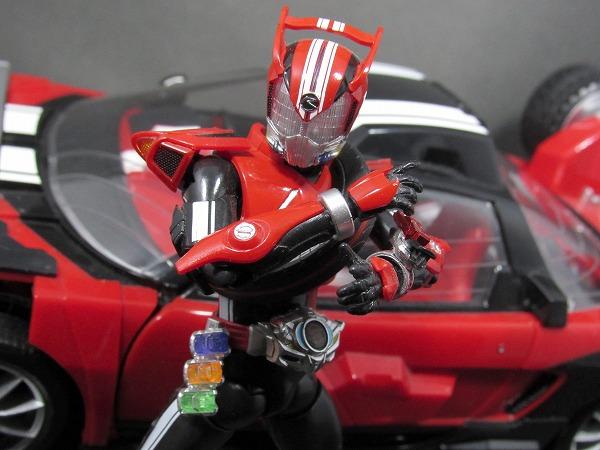 S.H.フィギュアーツ 仮面ライダードライブ タイプトライドロン タイヤカキマゼールセット レビュー