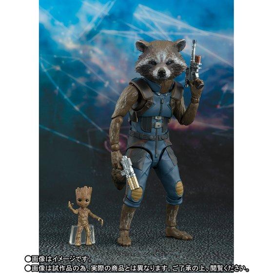 S.H.フィギュアーツ ロケット&ベビー・グルート(ガーディアンズ・オブ・ギャラクシー:リミックス)