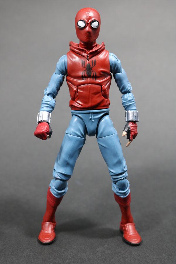 マーベルレジェンド スパイダーマン ホームメイドスーツ MARVEL LEGENDS SPIDERMAN HOMEMADE SUIT レビュー レビュー