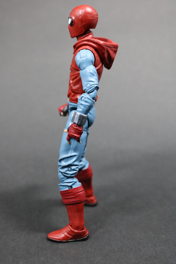 マーベルレジェンド スパイダーマン ホームメイドスーツ MARVEL LEGENDS SPIDERMAN HOMEMADE SUIT レビュー 全身