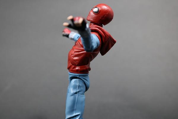マーベルレジェンド スパイダーマン ホームメイドスーツ MARVEL LEGENDS SPIDERMAN HOMEMADE SUIT レビュー 可動