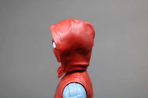 マーベルレジェンド スパイダーマン ホームメイドスーツ MARVEL LEGENDS SPIDERMAN HOMEMADE SUIT レビュー 付属品