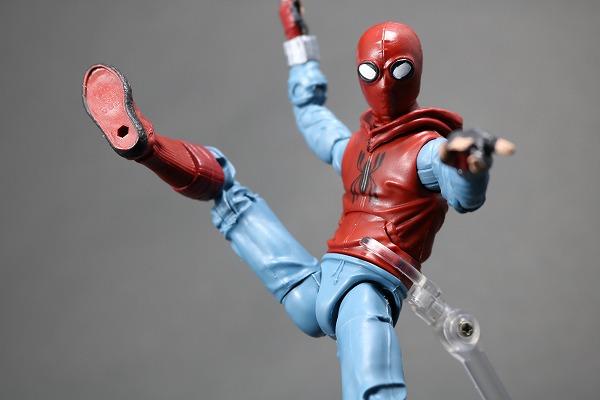 マーベルレジェンド スパイダーマン ホームメイドスーツ MARVEL LEGENDS SPIDERMAN HOMEMADE SUIT レビュー アクション