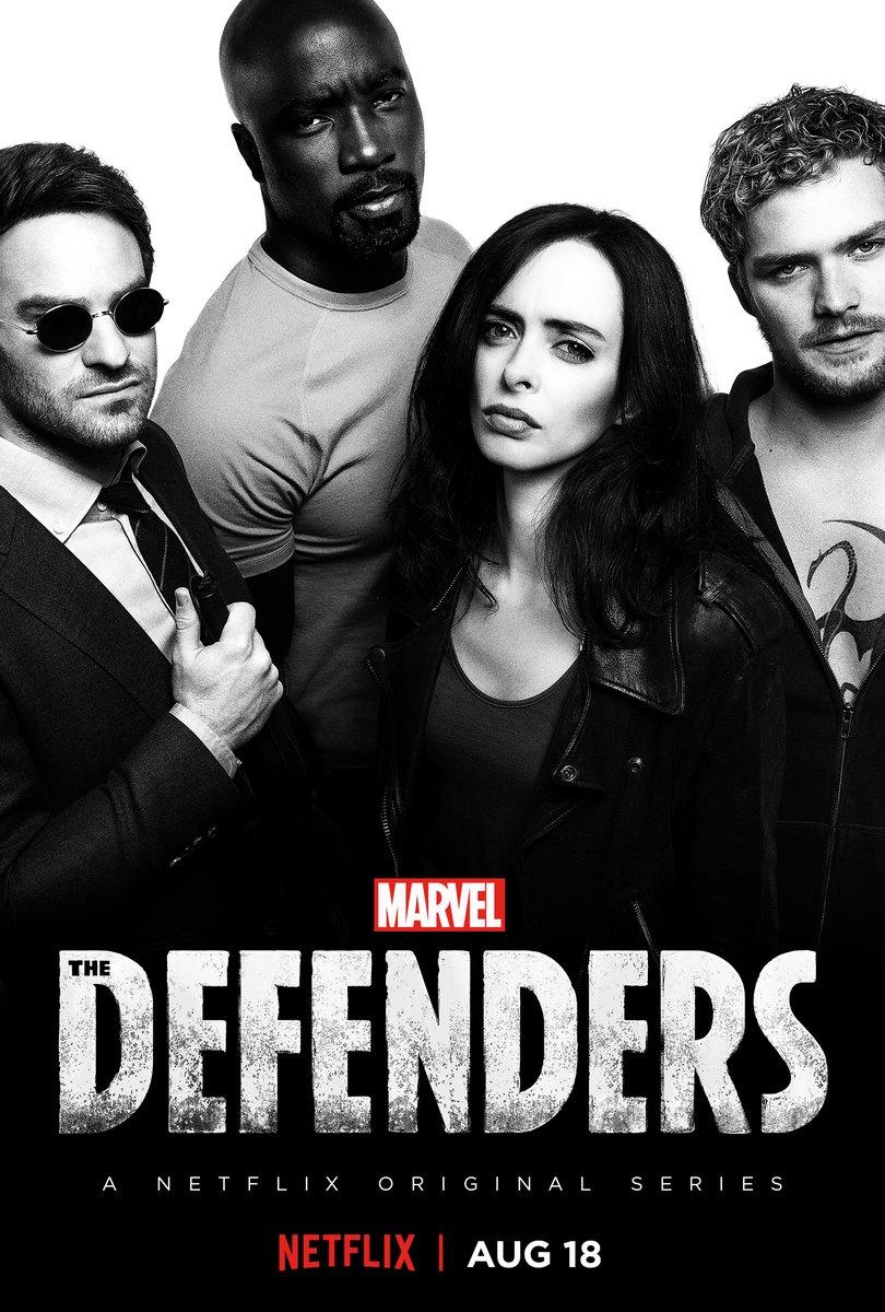 『ディフェンダーズ』、評価サイト・ロッテン・トマトにて80%の高評価!配信に期待!