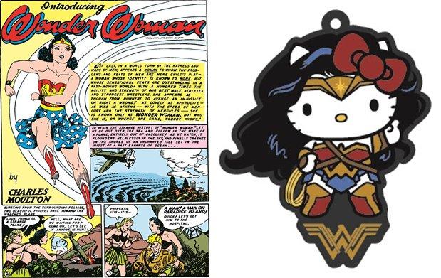映画『ワンダーウーマン』のムビチケ特典が公開!仕事を選ばないキティコラボと復刻版コミックの2種!