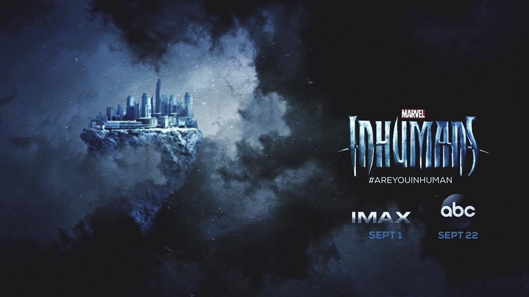 ドラマ『インヒューマンズ』の新たなポスターが公開!空に浮かぶアティランが描かれた神秘的なデザイン!