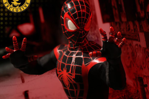 MEZCO ONE 12から夏限定の『マイルズ・モラレス スパイダーマン』が発売決定!