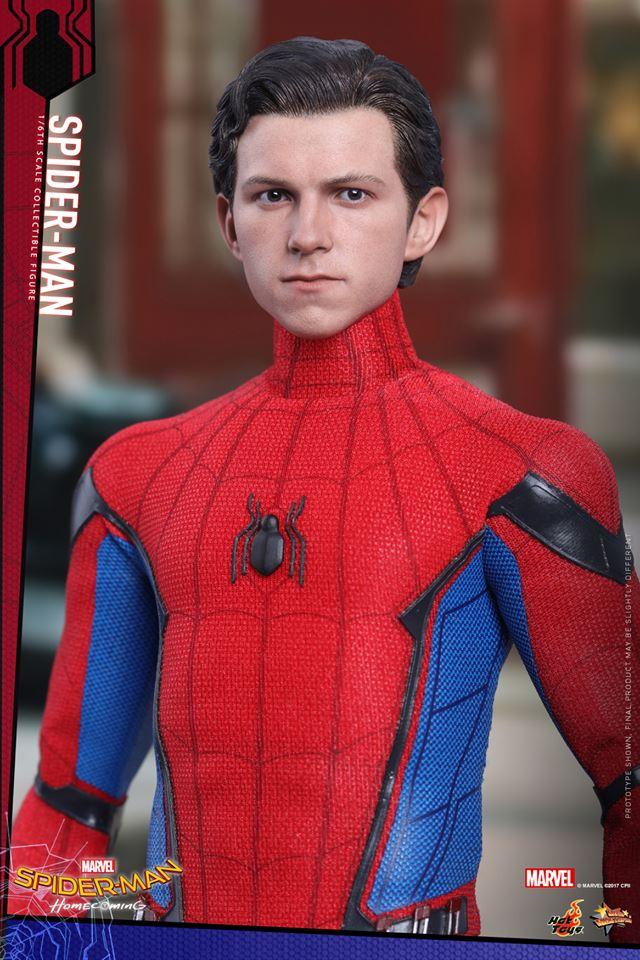 ホットトイズがホームカミング版「スパイダーマン」の素顔ヘッドを公開!