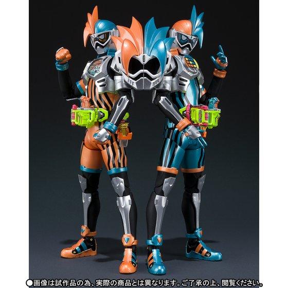 S.H.フィギュアーツ 仮面ライダーエグゼイド ダブルアクションゲーマー レベルXX LRセット