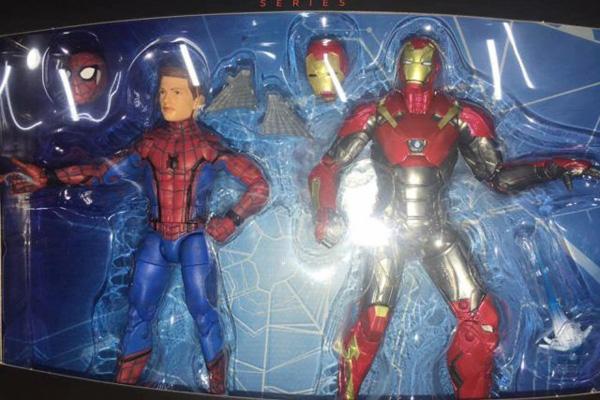 マーベルレジェンドから「スパイダーマン」と「アイアンマン マーク47」のホームカミングセットが登場か?
