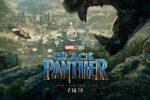 『ブラックパンサー』の新たなポスターが解禁!黒豹の巨象からワカンダを見下ろすブラックパンサー!