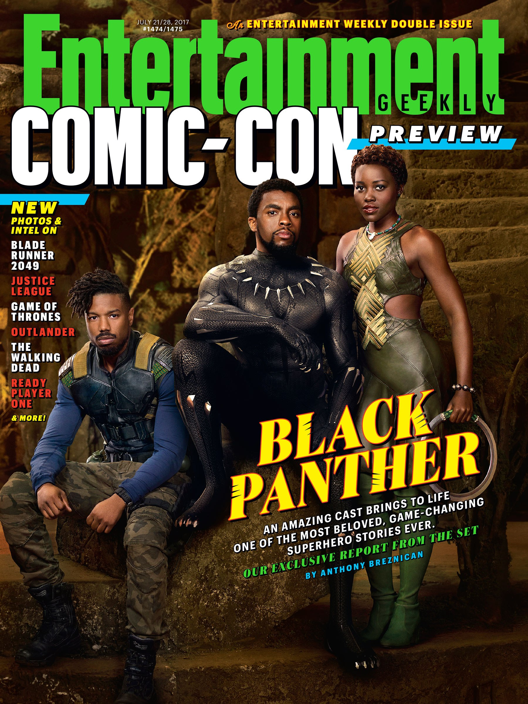 EW誌SDCC特別号で『ブラックパンサー』が表紙に登場!