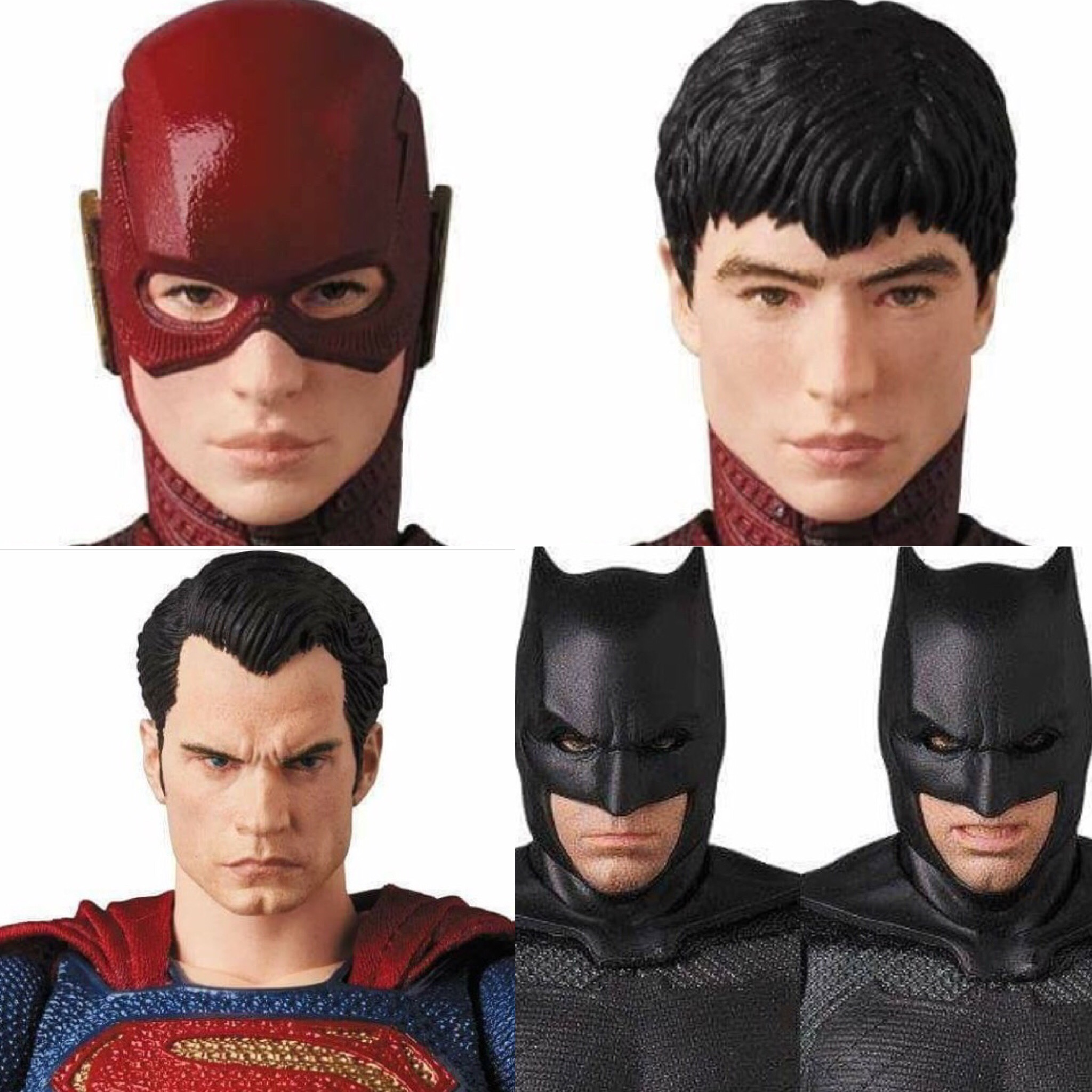 MAFEX新作!『ジャスティスリーグ』からフラッシュ、スーパーマン、バットマンの画像公開!