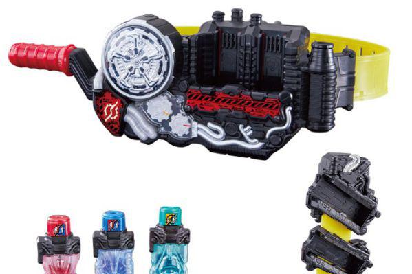 仮面ライダービルドの『DXビルドドライバー』の商品画像が公開!フルボトル2本付属!