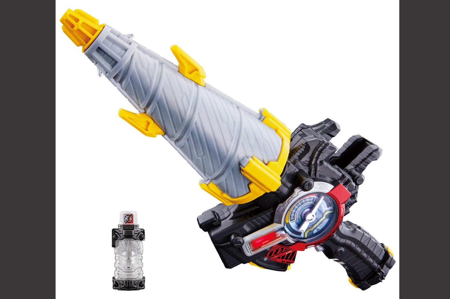 仮面ライダービルドのなりきり玩具『ドリルクラッシャー』が発売!ハリネズミフルボトルも付属!