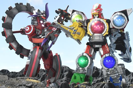【試作画像公開】ミニプラ新作!キュータマ合体シリーズ07に敵ロボ『モライマーズ』が登場!