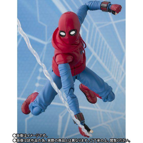 S.H.フィギュアーツの『スパイダーマン(ホームメイド)』&『アイアンマン マーク47』