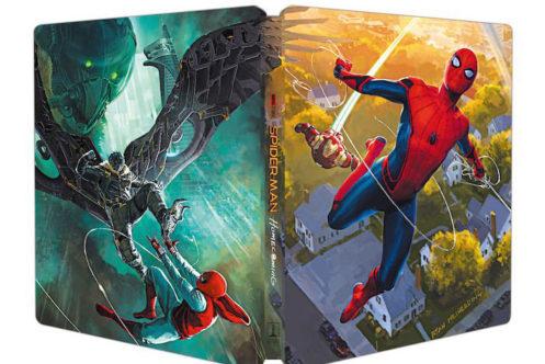 『スパイダーマン:ホームカミング』のBlu-ray/4Kのカバーアートが公開!