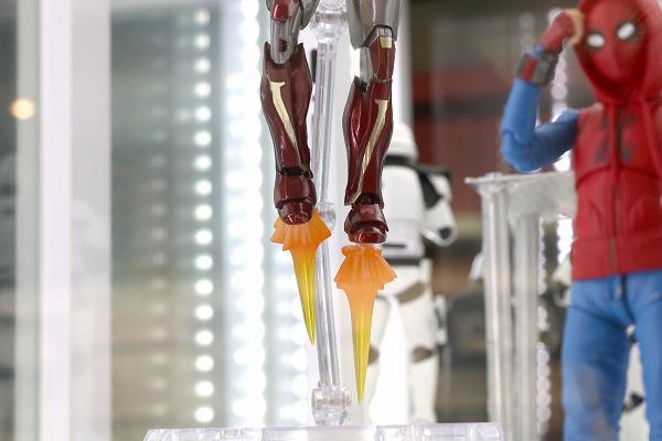 S.H.フィギュアーツ スパイダーマン(ホームメイドスーツ)&アイアンマン マーク47セット