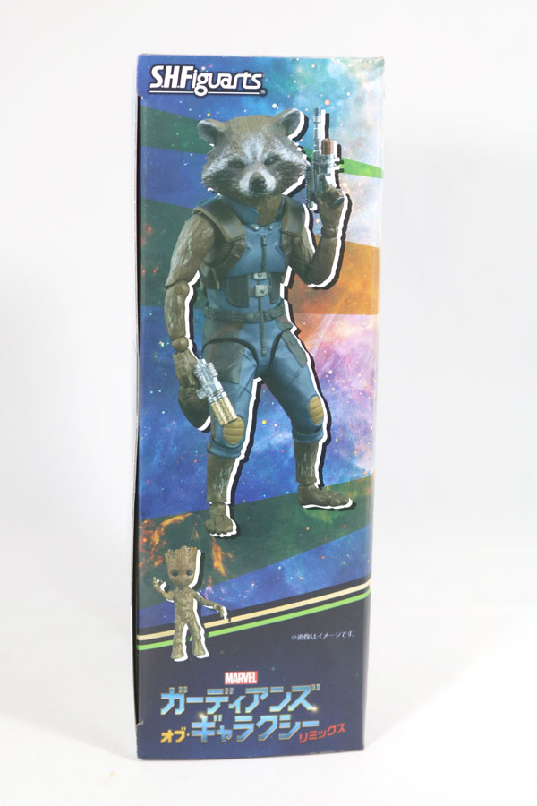 SS.H.フィギュアーツ ロケット&ベビー・グルート ガーディアンズ・オブ・ギャラクシー リミックス vol.2 レビュー パッケージ