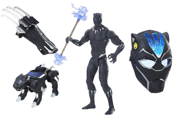 『ブラックパンサー』のおもちゃ画像が到着!フィギュアやなりきりマスクなど多数!