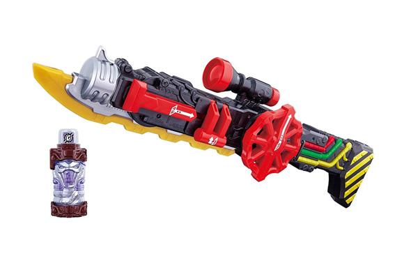 ブラッドスターク専用武器「DXスチームブレード」10月14日発売!コブラフルボトルも付属!