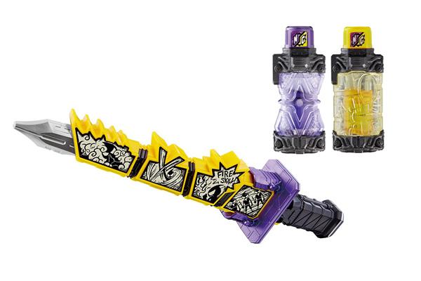 仮面ライダービルドから『DXニンニンコミックフルボトル』&『DX4コマ忍法刀』が9/30発売!BCRシリーズも!