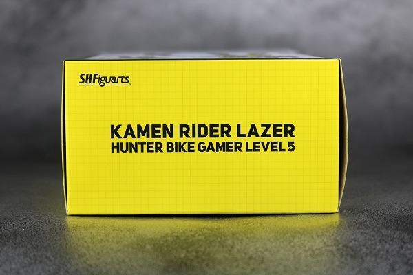S.H.フィギュアーツ 仮面ライダーレーザー ハンターバイクゲーマ― レベル5  レビュー 箱 パッケージ