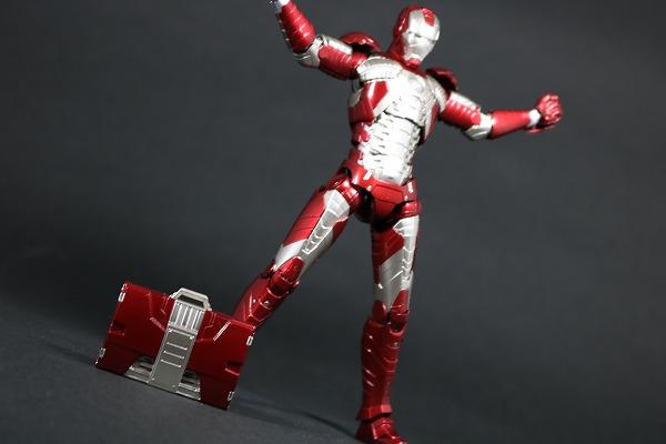 S.H.フィギュアーツ アイアンマン マーク5 レビュー アクション