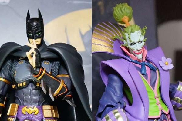 S.H.フィギュアーツ新作!アニメ『バットマン ニンジャ』より「バットマン」&「ジョーカー」!