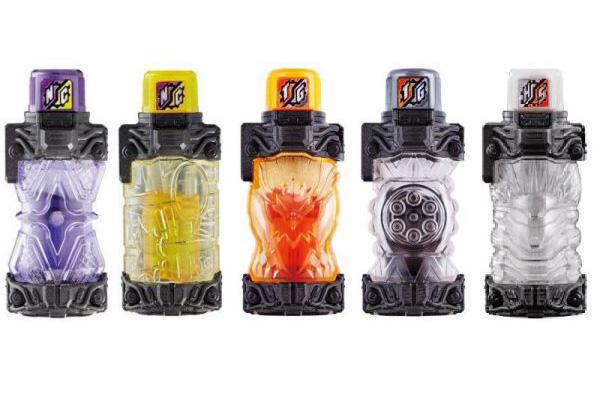 仮面ライダービルド食玩『SGフルボトル02』が10月16日発売!全5種!