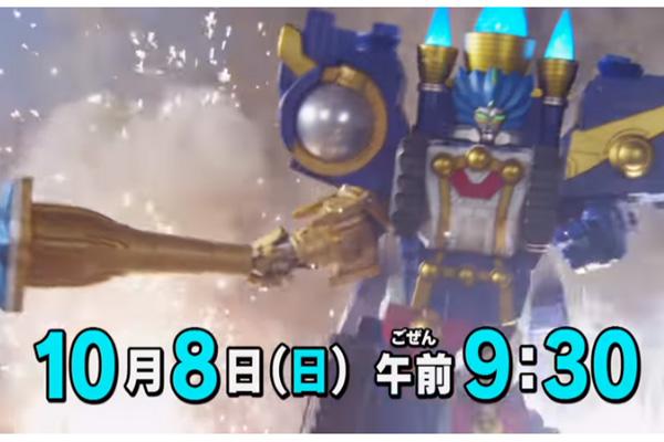 宇宙戦隊キュウレンジャー第33話の予告が公開!巨大ロボオリオンバトラー登場!