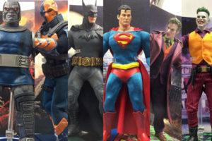 MEZCO新作!コミックデザイン「バットマン」「スーパーマン」など6体展示!