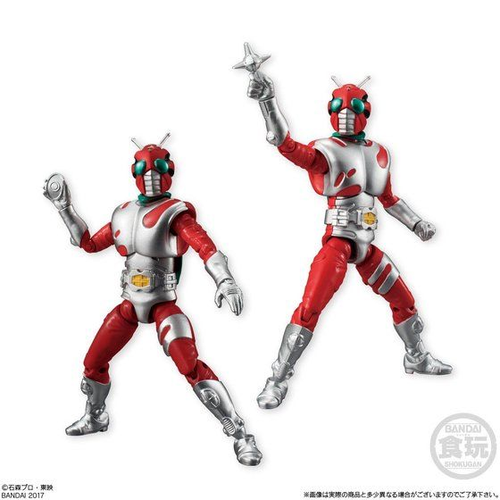 SHODO 仮面ライダー VS8