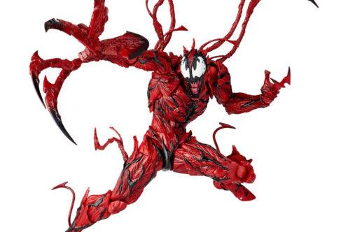 【予約開始】リボルテック新作!スパイダーマンのヴィラン『カーネイジ』が2018年5月19日発売予定!