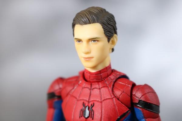 MAFEX スパイダーマン ホームカミング レビュー 付属品