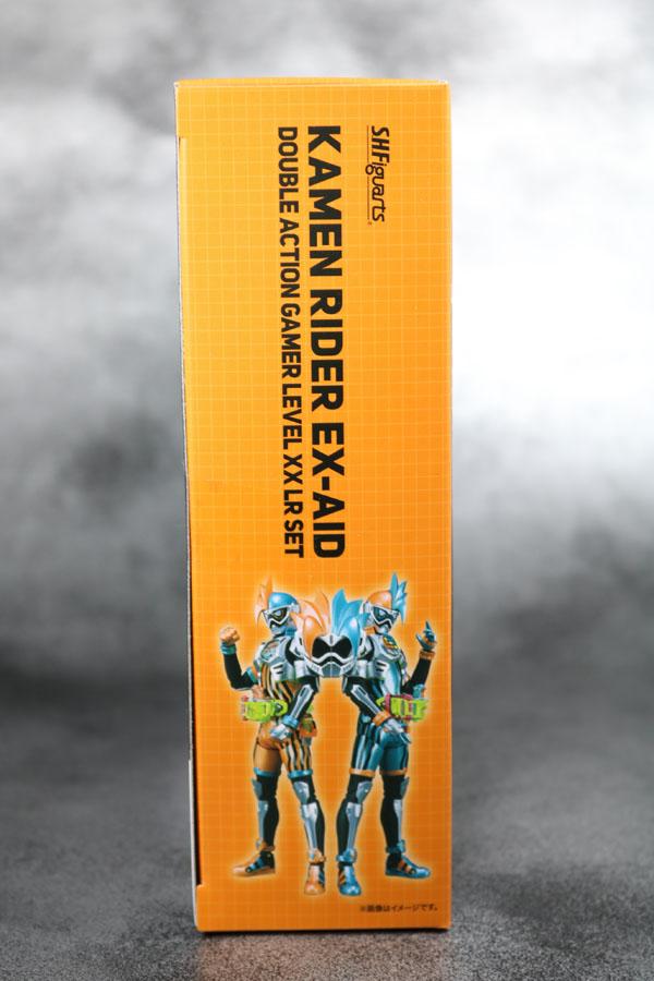 S.H.フィギュアーツ 仮面ライダーエグゼイド ダブルアクションゲーマー レベルXX  レビュー 箱 パッケージ