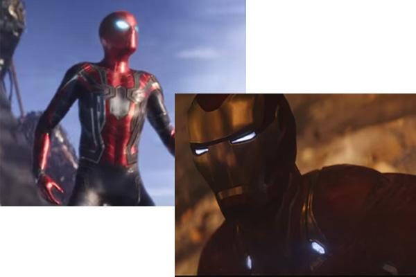 『アベンジャーズ インフィニティウォー』にスパイダーマン&アイアンマンの新スーツが登場!