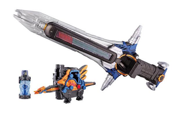「DXクローズドラゴン」&専用武器の「ビートクローザー」11月発売!